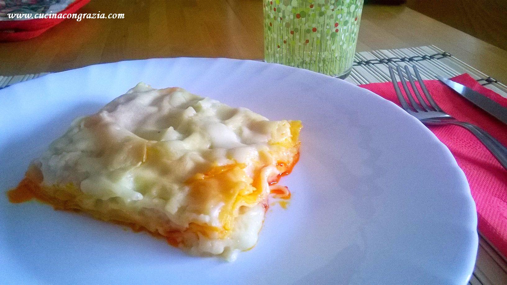 lasagna con la nduja