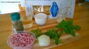 ingredienti mezzanelli alla menta