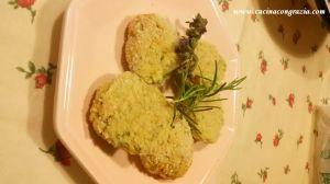 polpettine ricotta e zucchine