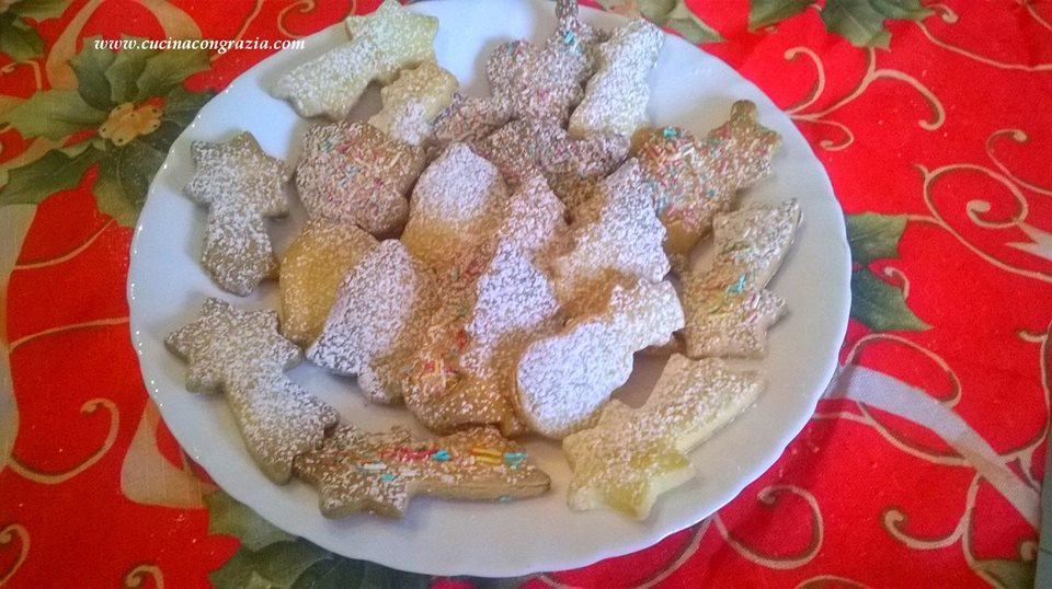 biscotti dolce neve