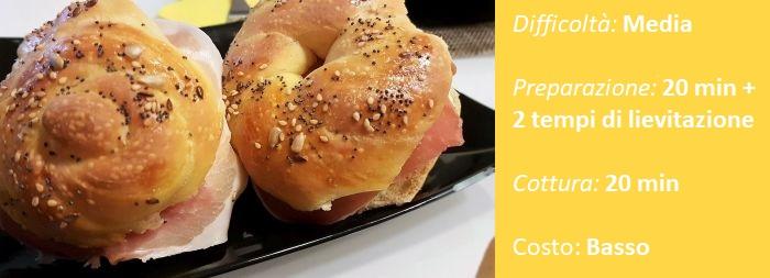 Panini di pan brioche di Letizia – Cucina con Grazia