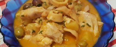 Zuppa Calamari e Persico